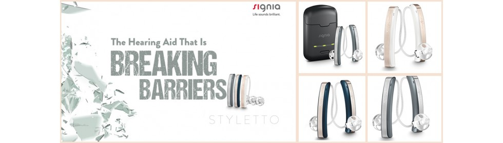 Enjoy Huge Discounts on Signia Styletto hearing aids
